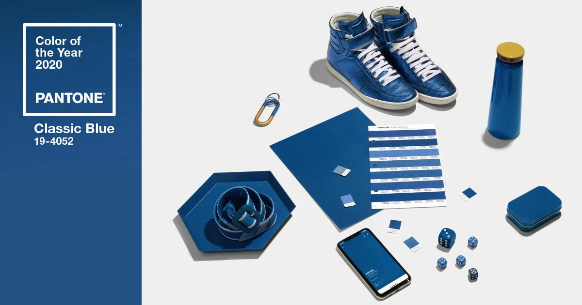 Farbe des Jahres 2020: Pantone Classic Blue